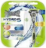 Wilkinson Sword Hydro 5 Sensitive, 5 Klingen mit Gratis Rasierer