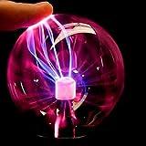 LEDMOMO Plasmakugel Lichter Plasma Ball lampe mit USB Kugel Blitze Touch Sensitive Lampe für Party Kinderzimmer Fest Dekorationen