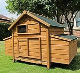 Pets Imperial® - Hühnerstall Marlborough/Savoy - groß - für 6 bis 8 Hühner Je nach Größe - sehr leicht zu reinigen A01