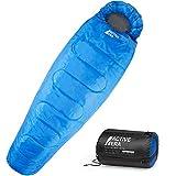 Professional 300 Mumien-Schlafsack für 3-4Saisons für Camping, Wandern, Aktivitäten im Freien